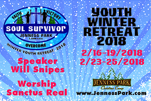 Winter Youth Retreat at Jenness Park